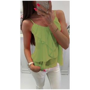 Neon Layered Lovely Top